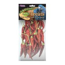 Extreme Naturals Chili Pepper Pods Bird Treat - 1 oz.