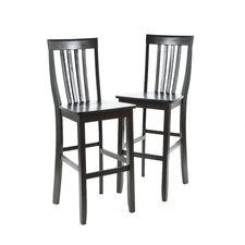 "School House 30"" Barstool in Black"