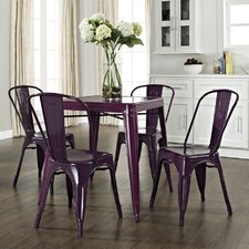 Amelia 5 Piece Café Dining Set