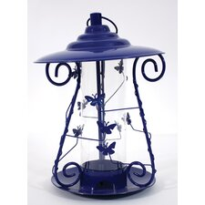 Decorative Butterfly Mixed Seed Bird Feeder