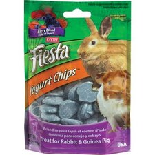 Fiesta Yogurt Chips Chinchilla Treat