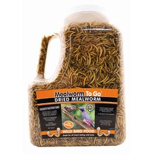 Dried Mealworm To Go Tub Wild Bird Food