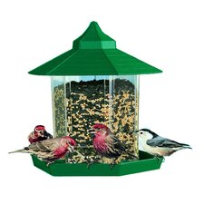 Gazebo Wild Bird Feeder in Green