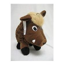 Plush Swirl Warthog in Brown