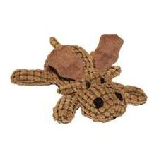 "14"" Waffle Wags Plush Moose in Brown"