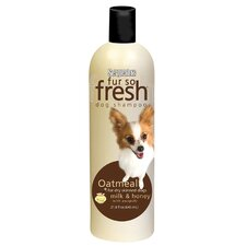 18 Oz. Fur So Fresh Oatmeal Dog Shampoo with Awapuhi