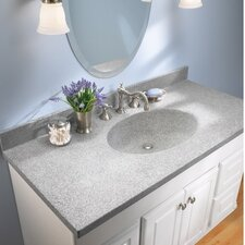 "Swanstone Classics 31"" Chesapeake Single Bowl  Vanity Top"