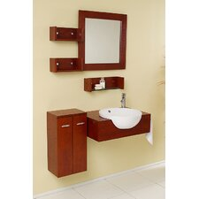 "Nero Stile 25.5"" Modern Bathroom Vanity Set"