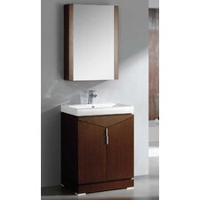 "Elissos 24"" Modern Bathroom Vanity Set with Medicine Cabinet"