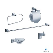 Generoso 5 Piece Bathroom Accessory Set