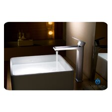 Allaro Single Handle Deck Mount Vessel Faucet