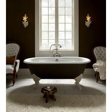 "Epoque Nouveau 67"" x 31"" Bathtub Less Feet"