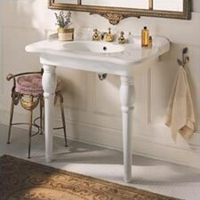 Sonnet Petite Console Bathroom Sink