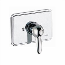 Talia Rectangular Pressure Balanced Valve Trim with Lever Handle