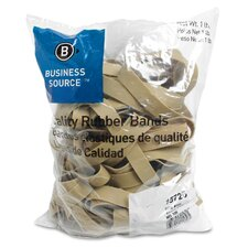 Rubber Bands, Size 105, lLB/BG, Natural Crepe