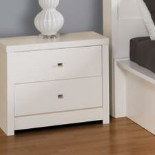 Calla 2 Drawer Nightstand