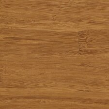 "Strand Woven 3-3/4"" Solid Bamboo Flooring in Carbonized"