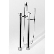 Two-Handle Freestanding Tub Filler