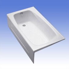 "Enameled Cast Iron 60"" x 32"" Bathtub"