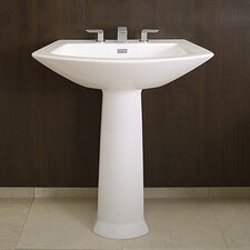 Soiree Pedestal Bathroom Sink Set