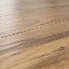 12mm Handscraped Pecan Laminate in Distressed Pecan
