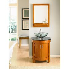 "Haddington 24"" Petite Vessel Stand Vanity Set"