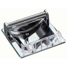 Futura Recessed Soap Dish in Polished Chrome