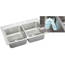 "Gourmet 33"" x 22"" E-Dock Kitchen Sink"