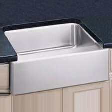"25"" x 20.5"" Undermount Single Bowl Kitchen Sink with Apron"