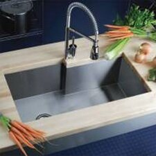 "Avado 34.5"" x 20.5"" Single Bowl Kitchen Sink"