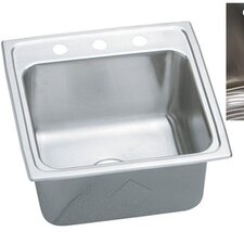 "Gourmet 19.5"" x 19"" E-Dock Kitchen Sink"