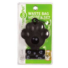 Pawprint Waste Bag Holder