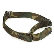 Camo Martingale Dog Collar