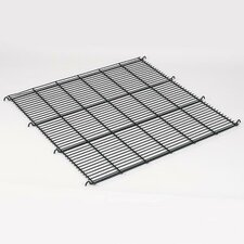 Replacement Floor Grate for Modular Cage in Black