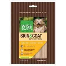 Wise Rewards Skin and Coat Softy/Chewy Treat
