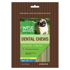 Wise Rewards Van/Mint Dental Chewy Dog Treat