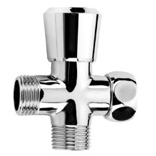 Versatile Shower Arm Diverter Valve