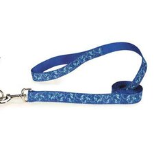 Water Ways Scroll Dog Lead