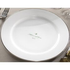 "Personalized Synthesis 12.25"" Dinner Plate"