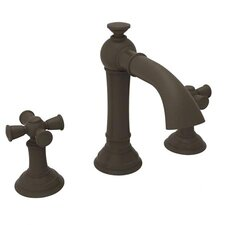 Aylesbury Tall Widespread Bathroom Faucet with Double Cross Handles