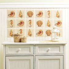 Sanibel Shore Wall Art Vinyl Peel and Stick