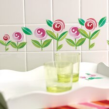 Lollipop Flowers Self-Adhesive Cutouts