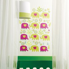 Elephants Peel and Stick Wall Stickers
