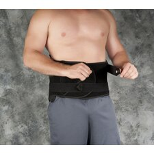 Fusion System Lumbosacral Orthosis in Black