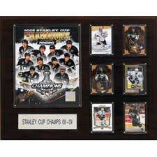 NHL Penguins 2009 Stanley Cup Champions Plaque