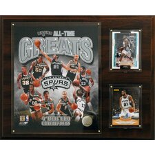 NBA All-Time Great Photo Plaque