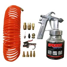 GAK  15 Piece Spray Gun & Air Tool Accessory Kit