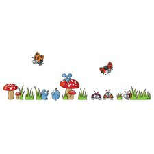 Ludo Mice and Ladybugs Wall Decal