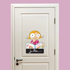Ludo Door Sign - Girl Wall Decal