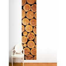 Unik Log Wall Decal